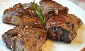 If you haven't had a thick cut pork chop before, well, prepare to fall in love with pork chops. Grilled Lamb Chops With Garlic Lemon Wine And Herbs 2 Sisters Recipes By Anna And Liz