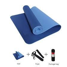 <b>6mm TPE Yoga Mat</b> No slip 183*61cm Sports Mat For Fitness ...