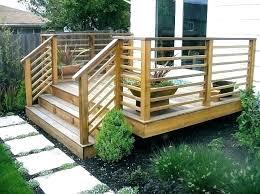 diy deck railing deck railing table simple build deck railing bar