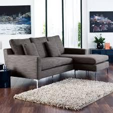 dwell oslo reversible corner sofa grey