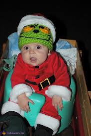 the grinch baby costume. Exellent The Even The 3 Month Old Is In Spirit  Dr Suessu0027 The Inside Grinch Baby Costume