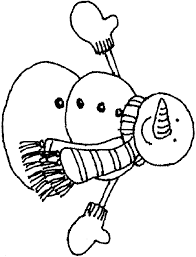 Small Picture Snowman Coloring Pages For Kids Printable Coloring Home
