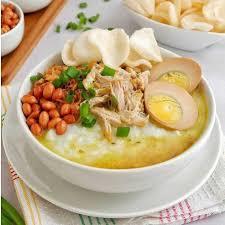 Lihat juga resep opor ayam bumbu kuning enak lainnya. Resep Bubur Ayam Kuah Kuning Rasanya Gurih Dan Kaya Topping