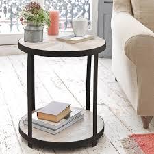 little sunshine round wooden side table loaf