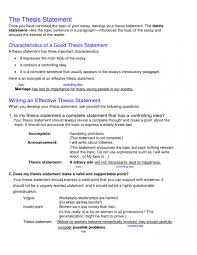 005 College Research Paper Thesis Statement Museumlegs