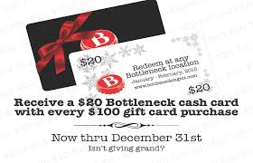 holiday gift card promo at howells hood bottleneck gift cards electronic gift certificates gc bounce