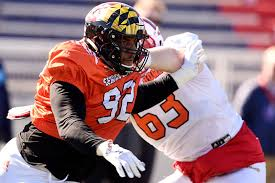 Patriots select Maryland DT Byron Cowart with pick 159 in 2019 NFL Draft