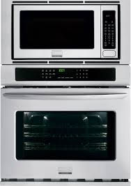 frigidaire fgmc3065pf 30 inch combination wall oven with 4 6 cu ft true convection oven 2 0 cu ft microwave steam clean quick preheat