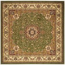 safavieh lyndhurst sage ivory 8 ft x 8 ft square area rug