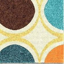 turquoise and orange area rug rugs the best of at awesome contemporary blue
