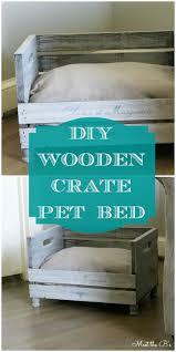 wood crate furniture diy. DIY Wooden Crate Pet Bed | Meet The B\u0027s Wood Furniture Diy