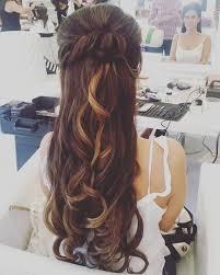 half up half down hairstyles wedding. half up long wedding hairstyle down hairstyles l