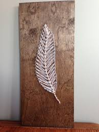 Diy String Art Makefeather String Art Crafts Pinterest String Art And Feathers