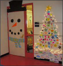 office christmas decorating ideas. Interesting Decorating Christmas Decoration Ideas For Office Doors DesignCorner Decorating