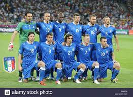Italy national football team pose for a ...