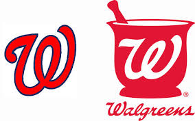 walgreens logo. Perfect Walgreens Furthermore The Nationals Brand Seems To Permit Variants Of Logo With  Thin Outlines Whereas Walgreens Is Never Outlined And Logo