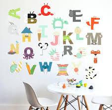 alphabet wall decals for kids rooms alphabet wall decal interactive  alphabet wall sticker zoom wall decals . alphabet wall decals for kids ...