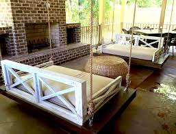 Wooden Porch Swings White