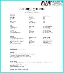 Best Word Resume Template Awesome Theatre Resume Template Word Chaseeventsco