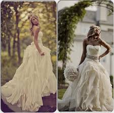 outdoor country wedding dress naf dresses