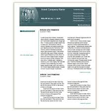 Newsletter In Word Where To Find Free Church Newsletters Templates For Microsoft Word