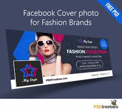 Free Facebook Covers Templates Facebook Cover Photo For Fashion Brands Free Psd Psdfreebies Com