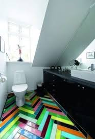 colorful floor tiles design. 31 Cool Colorful Bathroom Tiles: Tiles With White  Water Closet And Modern Storage Vanity Design Colorful Floor Tiles Design