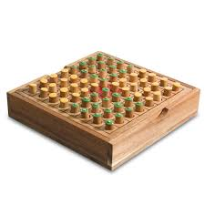 Wooden Board Game With Pegs Othello Tactile Wooden Board Game Wooden board games Wooden 41