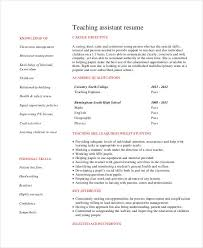 Cv For Teaching Teacher Resume Sample 32 Free Word Pdf Documents Download Free