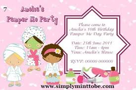 Diy Girls Manicure Pedicure Spa Party Invitation 4x6 Digital Order Only Birthday Party Digital Order Invite 7