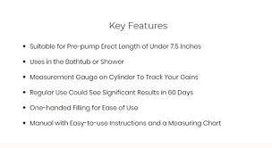 Bathmate Gains Chart Missgama Bathmate Hydromax X30 Pen S Enlargement Pump For