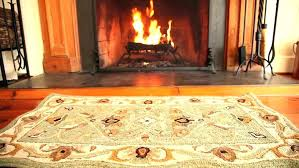 idea fireproof hearth rug or fireplace rugs filigree wool