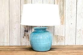 teal lamp base