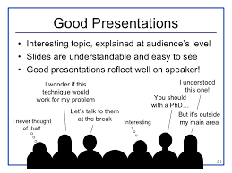 presentation guide  51 good presentations • interesting topic