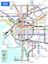 大阪 地下鉄 路線 図