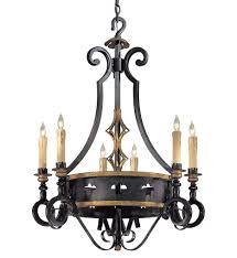 metropolitan lighting n6106 20 montparnasse 6 light french black chandelier undefined