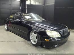 2000 mercedes benz s class is one of the successful releases of mercedes benz. 2000 Mercedes Benz S Class For Auction Iaa