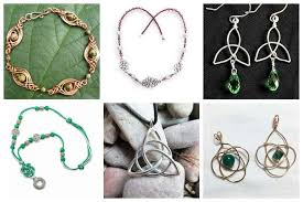 although celtic knots may appear complicated to look at there is countless jewelry that adapts