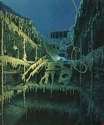 real underwater titanic pictures. Plain Underwater Real Pictures Of Titanic Underwater  TITANIC Grandstair Case In
