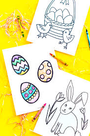 Easter Coloring Pages Free Printable Sugar And Soul