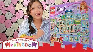 Mở hộp và Lắp ráp Bệnh Viện Hearlake 41318 | Review LEGO FRIENDS Bữa Tiệc  Bãi Biển - YouTube