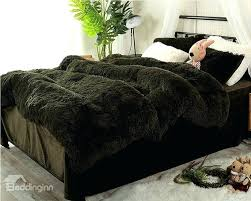best fluffy duvet full size blackish green super soft fluffy plush 4 piece bedding sets duvet best fluffy duvet share fluffy bedding sets