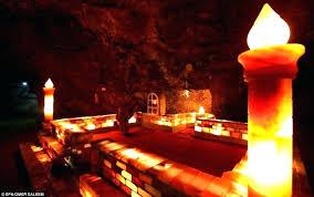 big salt rock lamp home diy