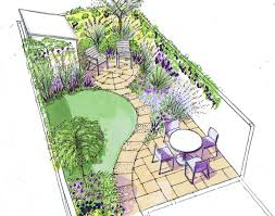 design a garden. Design For A Small Back Town Garden On Low Budget More