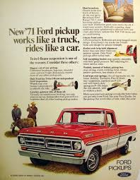 ford works 71 ford pickup works like a truck rides like a car 1970