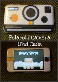 polaroid i pod case a decorated gadgets creation by 11lizzie