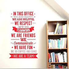 inspirational pictures for office. Cool Inspirational Quotes Office Decor Rules Wall Sticker We Are A Team Increase Cohesion Pictures For N