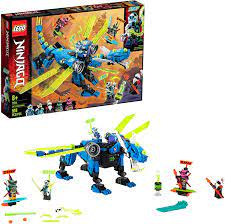 Amazon.com: LEGO NINJAGO Jay's Cyber Dragon 71711 Ninja Action Toy Building  Kit, New 2020 (518 Pieces): Toys & Games