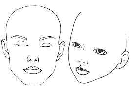 Blank Face Templates Stunning Images Of Round Blank Face Template Printable Human Outline