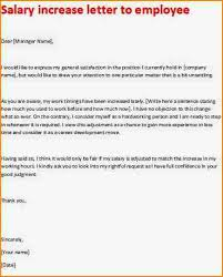 pay raise letter samples salary increase proposal letter pay raise compliant photograph plus